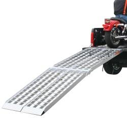Rampe de chargement de 8' à 2 sections