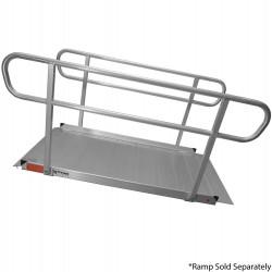 handrails for 6' ramp