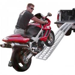 Single motorcycle ramp
