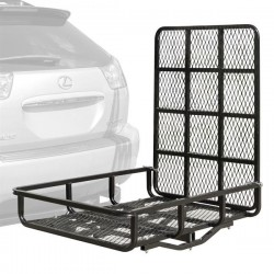 Steel cargo carrier with ramp