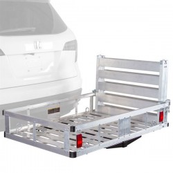 Cargo carrier with ramp