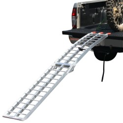 Folding single ramp